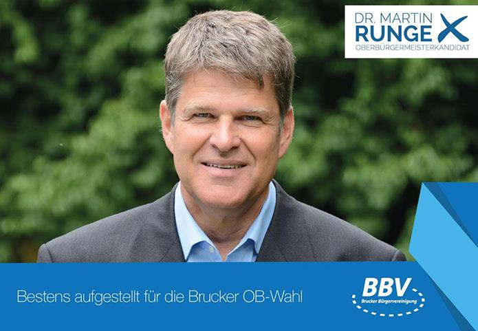 Dr. Martin Runge OB-Kandidat für Fürstenfeldbruck