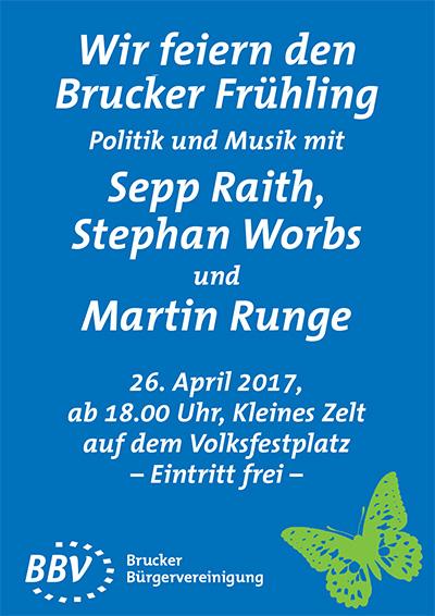 Politik und Musik mit Martin Runge